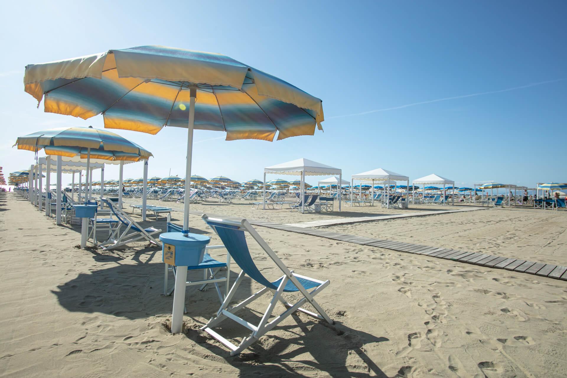 Beach resort Bagno Roma Viareggio